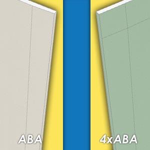 ABA of 4xABA gipsplaat: wat is het verschil?