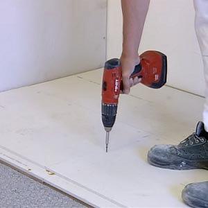 Een Fermacell vloer leggen