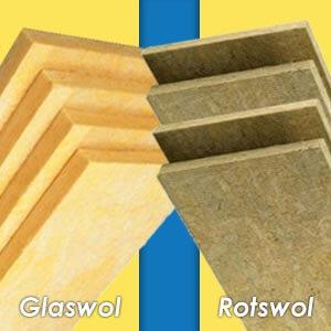 Glaswol of rotswol: wat zijn de verschillen?