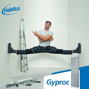 Gyproc Habito® wand plaatsen