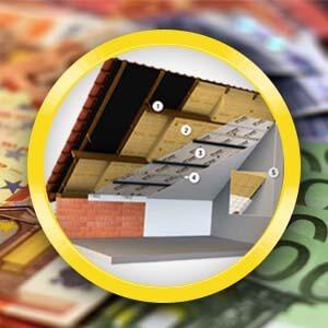 Isolatiepremie voor vloeren, daken en muren