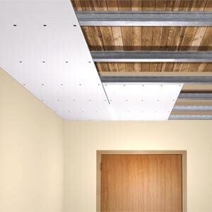 Verlaagd plafond plaatsen: welke gipsplaten?