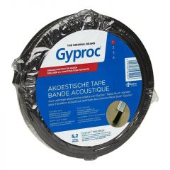 Gyproc Akoestische Afdichtingsband PE Zwart 5,2m G109390