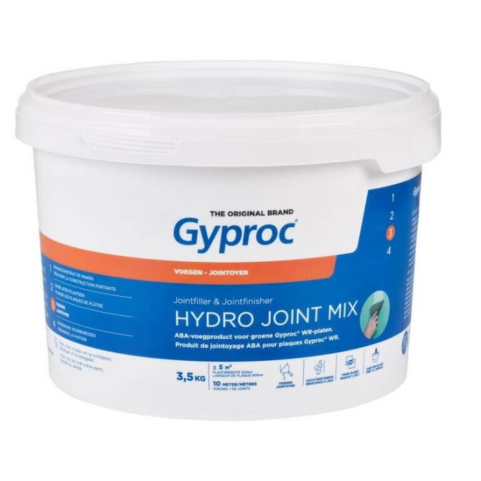 Gyproc Hydro Joint Mix Voegmiddel Pasta 3,5kg G130326