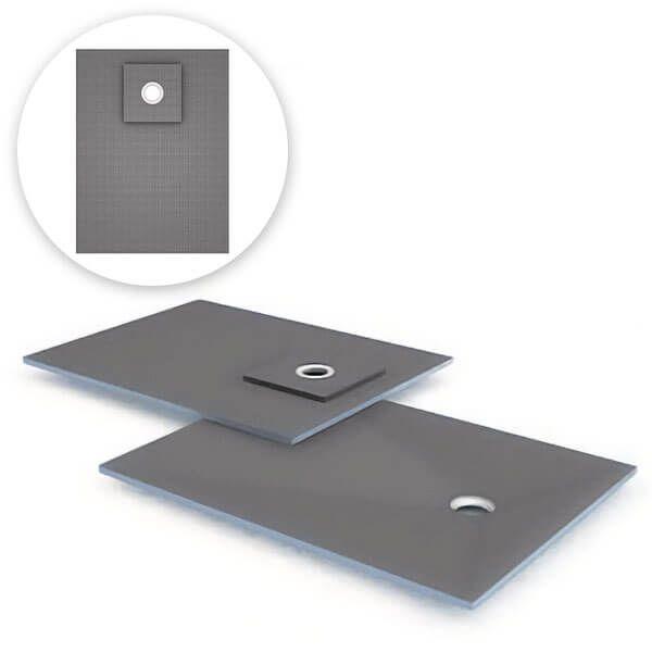 Wedi Fundo Ligno douchevloerelement 1200x900mm | Afvoer decentraal