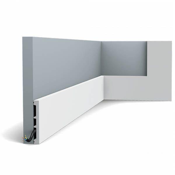 Orac Decor Plint SX163 Square 102mm x 13mm x 2m
