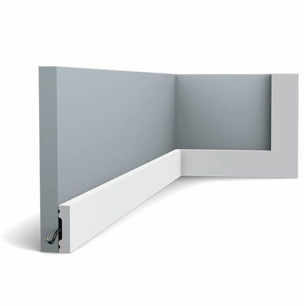 Orac Decor Plint SX162 Square 40mm x 10mm x 2m