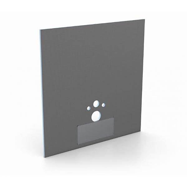 Wedi I-Board Plus Bouwplaat Hangtoilet extra stevig | 1245x1200x20mm