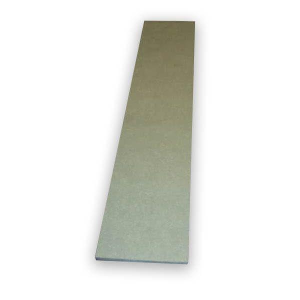 MDF hangtoilet element bovenaan 1m x 0,25m x 18mm