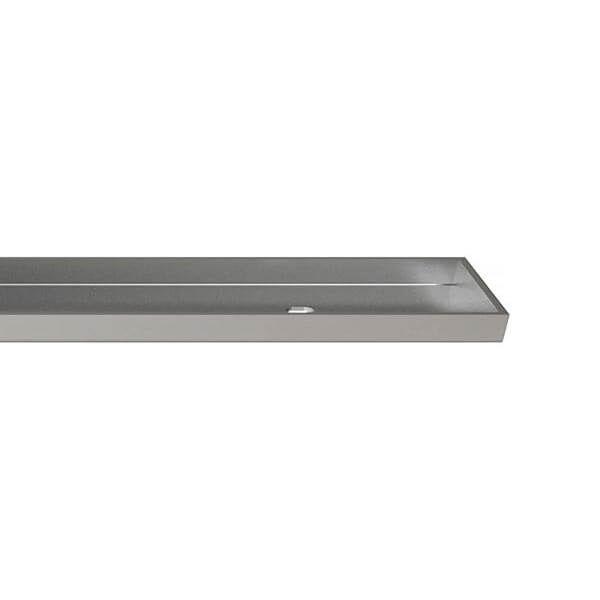 Wedi Fundo Afdekrooster RVS voor Fundo Riolito Neo sleufdrain | 1090x45mm