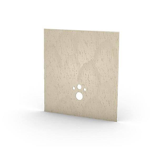 Wedi I-Board Top kant-en-klaar oppervlak | 1245x1200mm | Sahara Beige