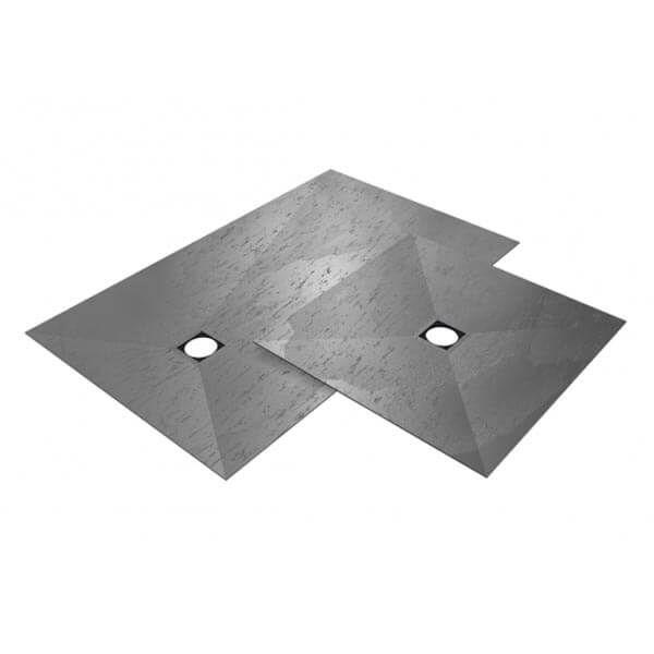 Wedi Fundo Top Plano douchevloer oppervlak   1200x900mm   Concrete Grijs