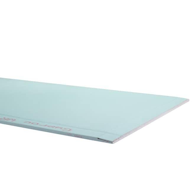 Gyproc waterwerende gipsplaat 2,5x0,6mx12,5mm 4ABA G130260