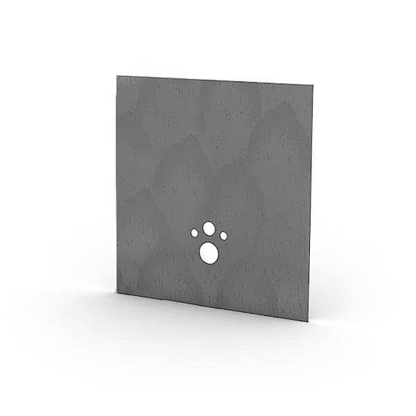 Wedi I-Board Top kant-en-klaar oppervlak | 1245x1200mm | Concrete Grijs