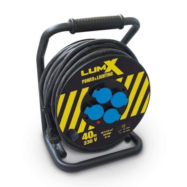 Lumx professionele kabelhaspel 25m