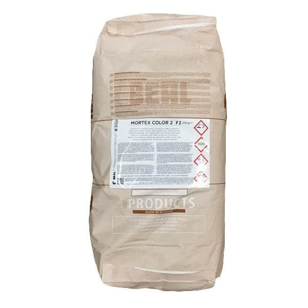 Beal Mortex Color 2-F2 Basispoeder 25kg
