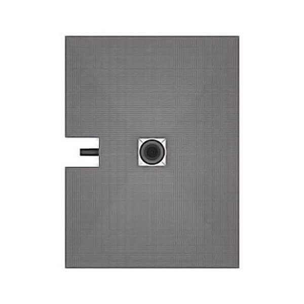 Wedi Fundo Plano douchevloerelement 1200x900mm | Afvoer centraal (via lange zijde)