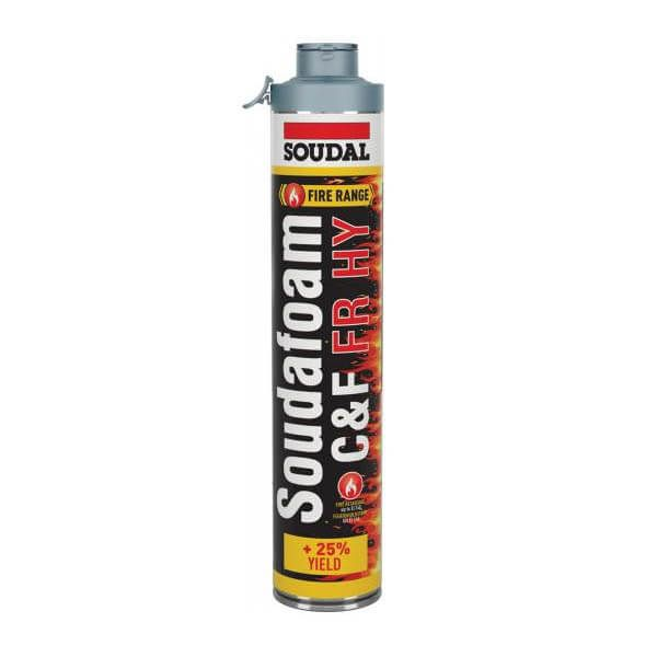 Soudal Soudafoam FR HY Click & Fix PU-Schuim 750ml