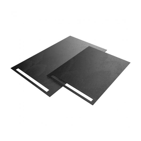 Wedi Fundo Top RioLito Neo douchevloer oppervlak | 1600x1000mm | Antraciet Zwart