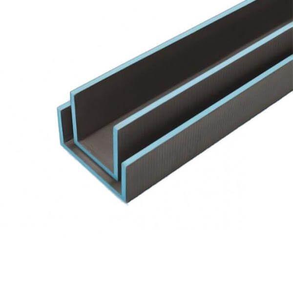 Wedi Mensolo-U Hoekelement 2,6m x 300x150mm