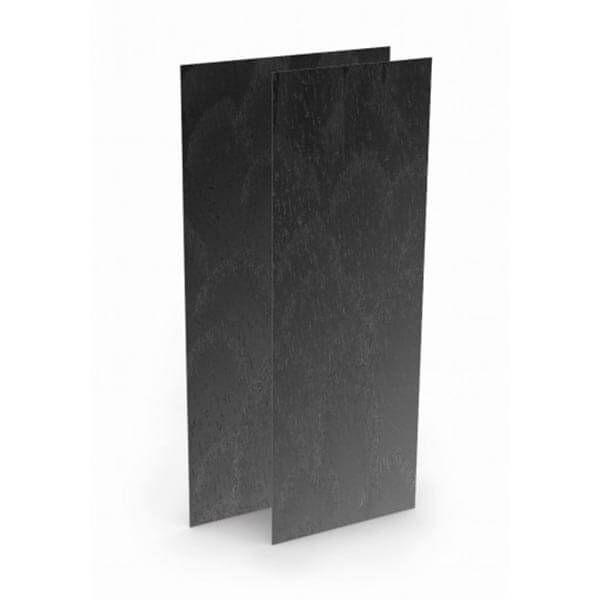 Wedi Top Wall kant-en-klaar muuroppervlak | 2,5m x 1,2m x 6mm | Carbon Zwart