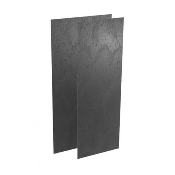 Wedi Top Wall kant-en-klaar muuroppervlak | 2,5m x 0,9m x 6mm | Concrete Grijs