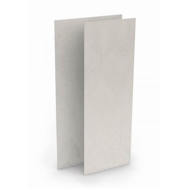 Wedi Top Wall kant-en-klaar muuroppervlak | 2,5m x 1,2m x 6mm | Stone Grijs