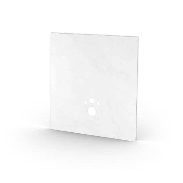 Wedi I-Board Top kant-en-klaar oppervlak | 1245x1200mm | Pure Wit