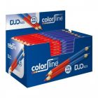 Color Line Potlood Duo Rood/Blauw 175mm