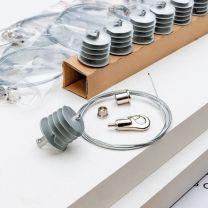 Ecophon Solo Rectangle Kit 2,4m x 1,2m x 40mm | 2 panelen + toebehoren
