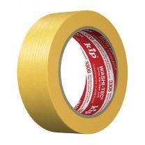 Kip Washi-Tec Premium Schilderstape 3308 Geel | 50 m x 36 mm