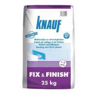 Knauf Fix & Finish Afwerkpleister 25kg