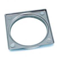Wedi Fundo kader RVS voor Fundo Fino afvoerrooster | 120x120x6,2mm