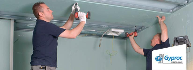Gyproc Metal Stud plafond plaatsen