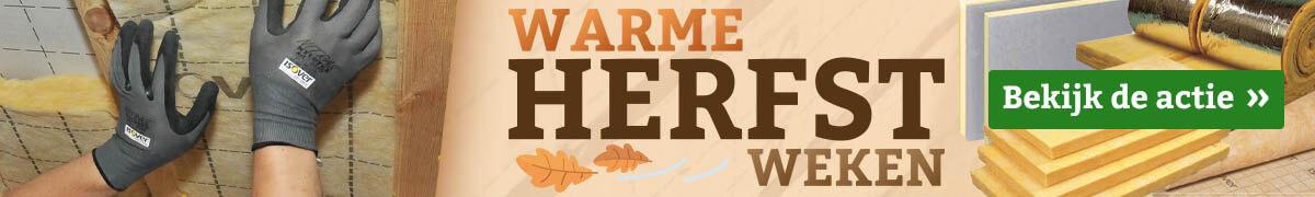 Warme Herfst Weken op Afwerkingshop