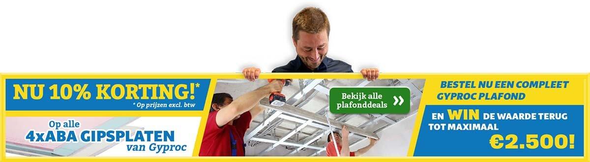 Gyproc Plafonddeals Afwerkingshop
