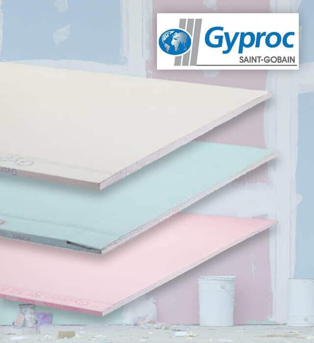 Gyproc plafond samenstellen