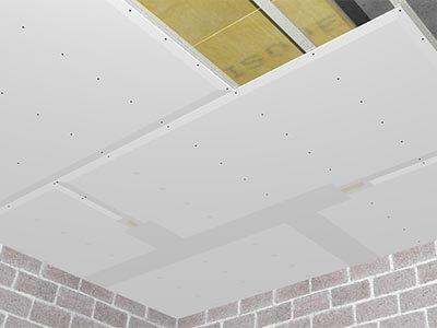 Gyproc plafond