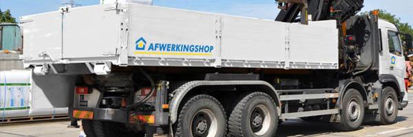 Snelle levering vrachtwagen