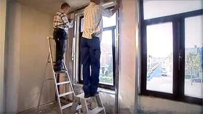 plafondprofiel plaatsen