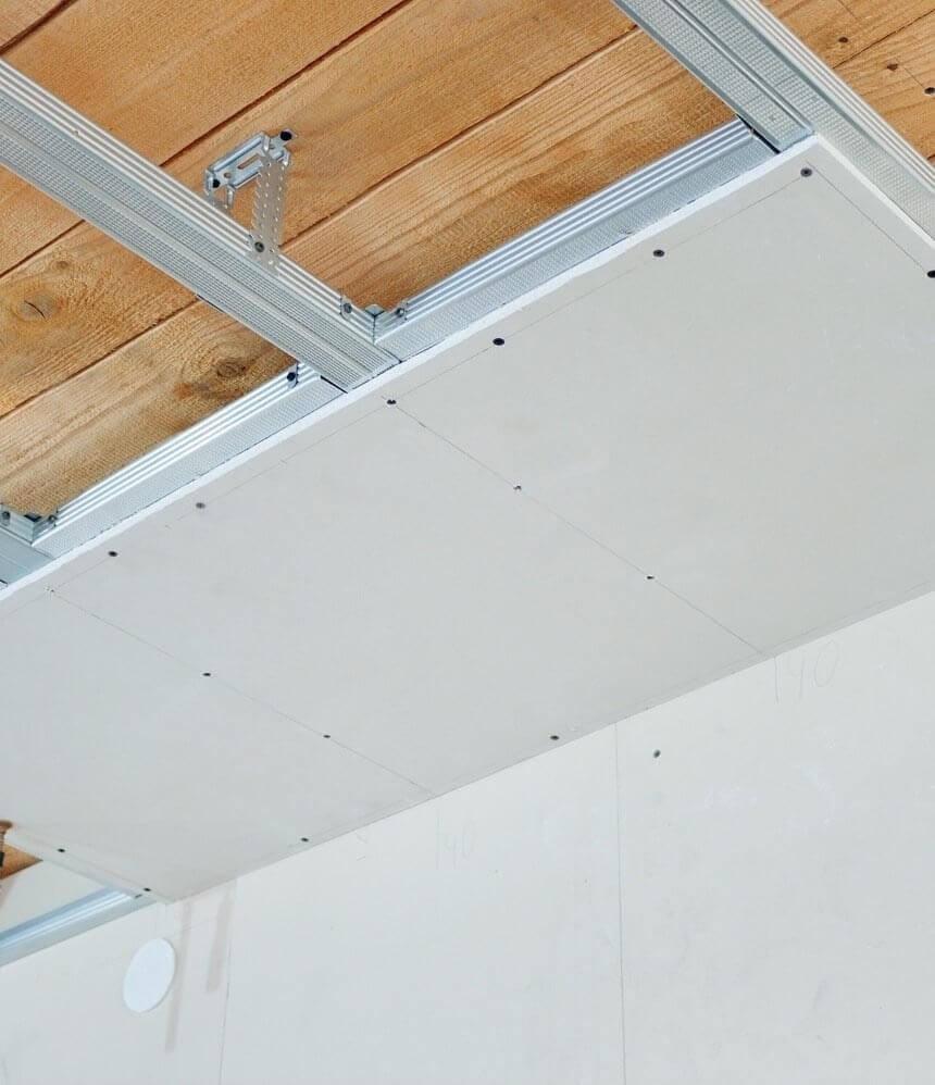Plafond samenstellen