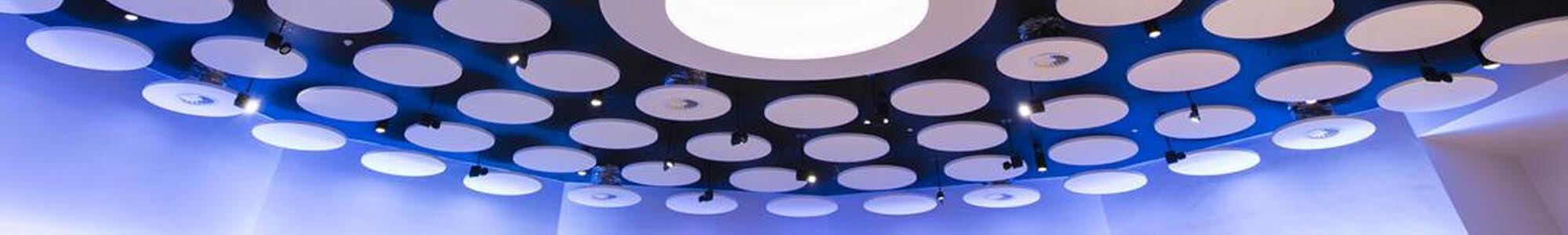 Plafondeilanden - Vrijhangde panelen