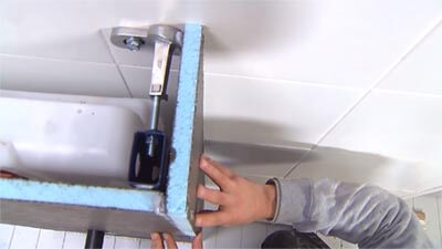 wedi toiletombouw